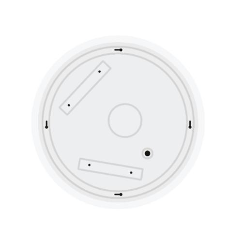HI-TEK  ชุดโคมไฟเพดานกลม LED 24W DL  Slim Type HFIL0SS24D