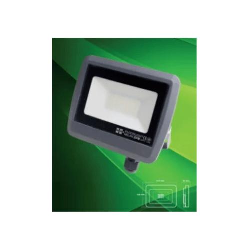 HI-TEK ฟลัดไลท์ LED มิลาน IP65 30W 220V DARK GREY (WW) HFOLFE30WG สีเทา