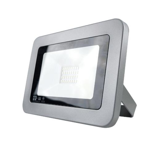 HI-TEK ฟลัดไลท์แอลอีดี50วัตต์แสงนวล HFOLFE50WS สีดำ