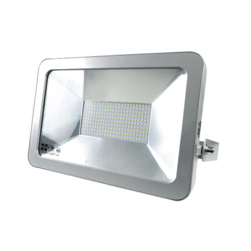 HI-TEK ฟลัดไลท์แอลอีดี150วัตต์แสงนวล HFOLF150WS สีโครเมี่ยม