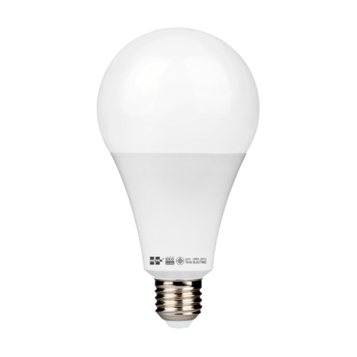 HI-TEK หลอดแอลอีดีทรงเอ28วัตต์ ขั้วเกลียวมาตรฐาน แสงขาว  HLLEA2728D สีขาว