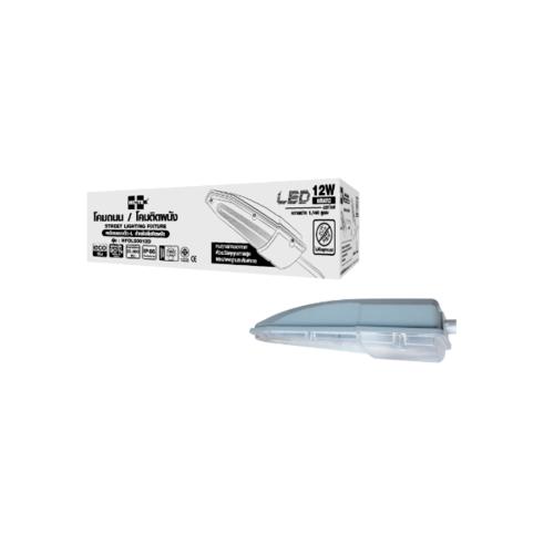 HI-TEK โคมไฟถนนแอลอีดี12วัตต์แสงขาว HFOLS0012D