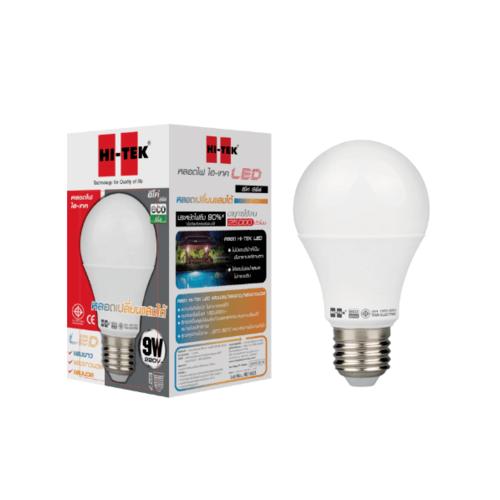 HI-TEK หลอด LED เปลี่ยนสีได้ 9W D/C/W  HLLE009