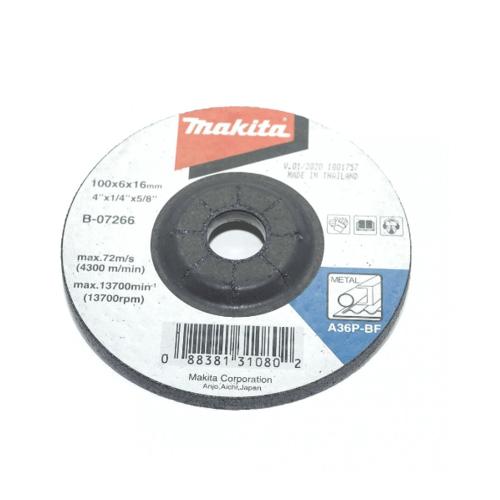 MAKITA แผ่่นเจียร์โลหะ B-07266 สีดำ