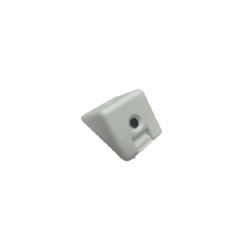 Pansiam ฉากพลาสติกพร้อมฝาปิด ขนาด 22x22x3mm. HETBR-09W  (4ตัว/แพ็ค)  ขาว