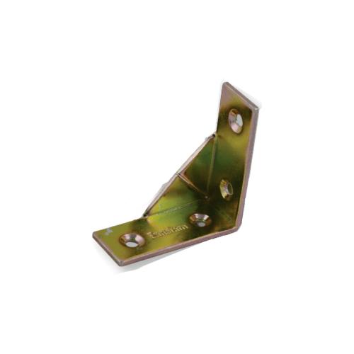 Pansiam ฉากเหล็กรุ่นมีปีก ขนาด 20x50mm. (4ตัว/แพ็ค) -  สีรุ้ง