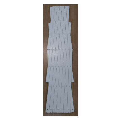 Pansiam รั้วระแนงพลาสติก   ขนาด 64x130cm สีขาว