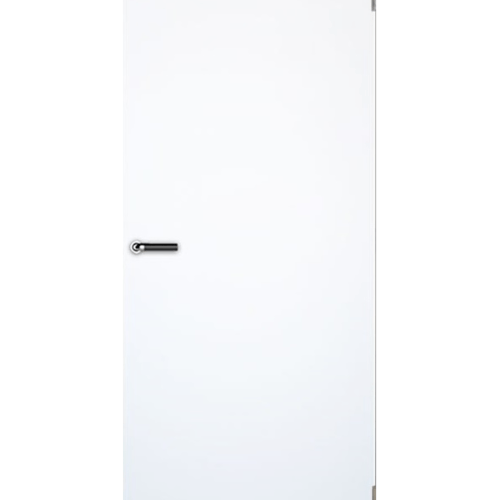 LEOWOOD ประตูไม้ลามิเนต ขนาด 35x800x2000 มม. Pearl white iDoor S5