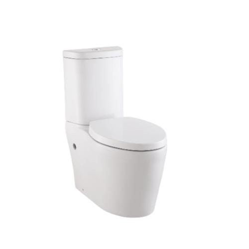 KOHLER สุขภัณฑ์แบบสองชิ้น ใช้น้ำ 3/4.2 ลิตร รุ่น คาเรส พร้อมฝารองนั่งแบบกันกระแทก  K-75921X-S-0  (ท่อเซรามิก) สีขาว