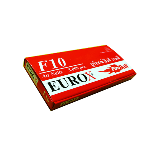 EUROX  ตะปู F-10 KING