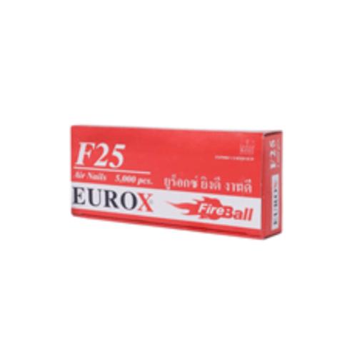 EUROX ตะปู F-25