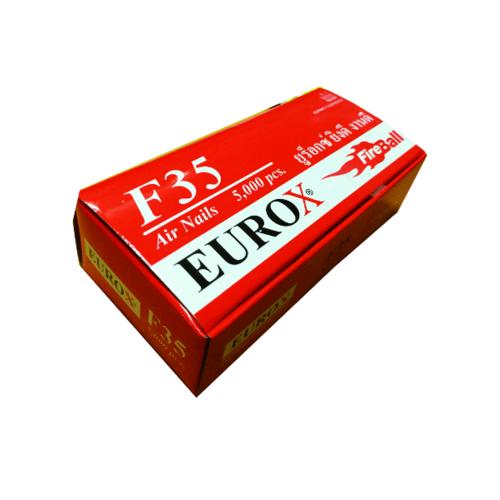 EUROX ตะปู F-35 สีแดง