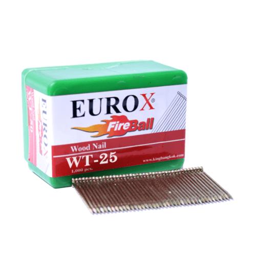 EUROX ยิงด้วยปืนลม ST64 ยิงลังไม้ พาเลด บันได โครงหลังคา WT-25
