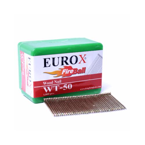 EUROX ตะปูมีหัวใช้ยิงไม้ WT-50