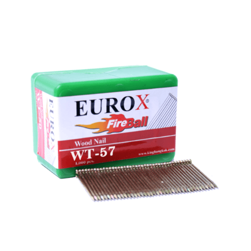 EUROX ตะปูมีหัวใช้ยิงไม้ WT-57