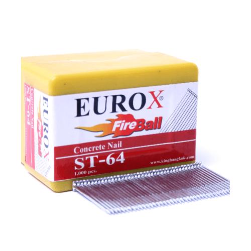 EUROX ตะปูมีหัวใช้ยิงคอนกรีต ST-38