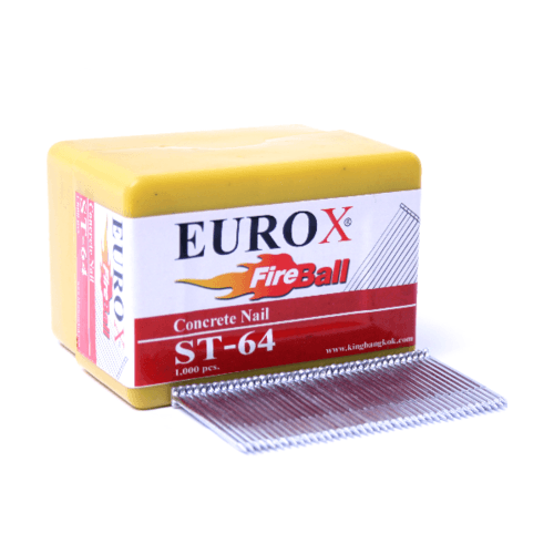 EUROX ตะปูมีหัวใช้ยิงคอนกรีต ST-45