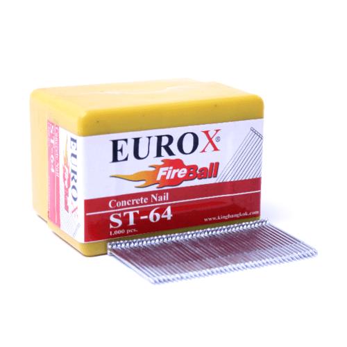 EUROX ตะปูมีหัวใช้ยิงคอนกรีต ST-64