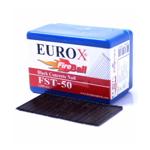 EUROX ตะปูยิงคอนกรีต  FST15 1000 นัด