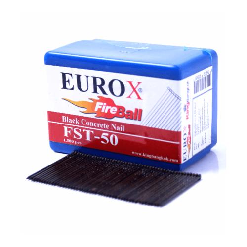 EUROX ตะปูยิงคอนกรีต FST18 1000 นัด