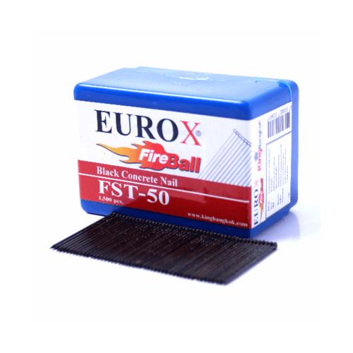 EUROX ตะปูยิงคอนกรีต FST25 1000 นัด