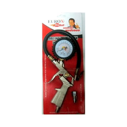 EUROX ปืนเติมลมยาง TC-500 เติมลม*วัดลม