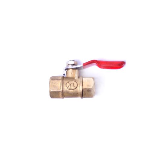 EUROX บอลวาล์ว2หุน (เมีย-เมีย) ทองเหลือง