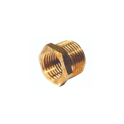 EUROX บุชชิ่งข้อต่อลดทองเหลืองเกลียว) 3-2หุน ทอง