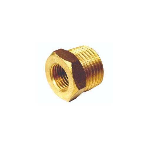 EUROX บุชชิ่ง (ข้อต่อลดทองเหลือง) 4-2 หุน ทอง