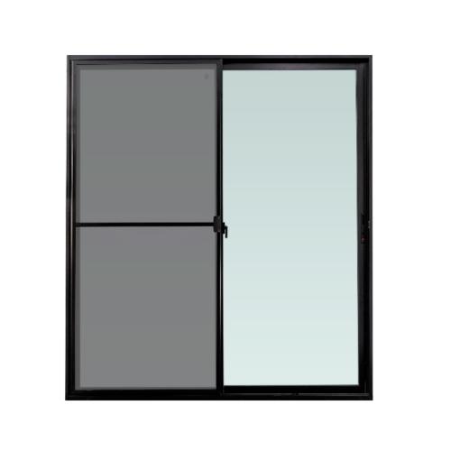 TRUSTAND (EZY WINDOW) ประตูบานเลื่อน กว้าง1600*สูง 2050 มม. พร้อมมุ้งลวด Enzo สีดำ