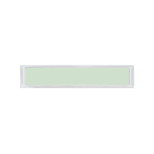 TRUSTAND (EZY WINDOW)  หน้าต่างอะลูมิเนียมช่องแสงติดตาย ขนาด 180x40ซม.   (Enzo) EZ-FIX1804  สีขาว
