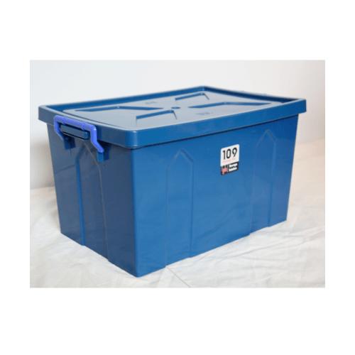SUMO กล่องพลาสติกUP80L. 109B  สีน้ำเงิน