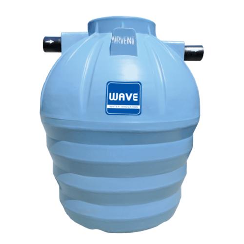 WAVE ถังบำบัดน้ำเสียชนิดรวมไร้อากาศ  WP-1600 ลิตร