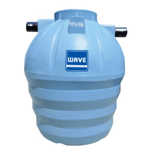 WAVE ถังบำบัดน้ำเสียชนิดรวมไร้อากาศ WP-2000 ลิตร