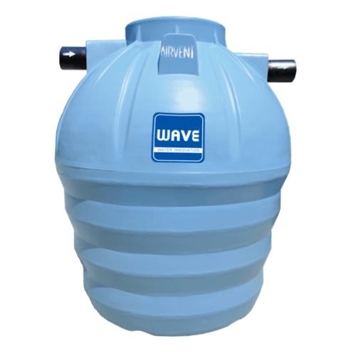 WAVE ถังบำบัดน้ำเสียชนิดรวมไร้อากาศ  WP-3000 ลิตร