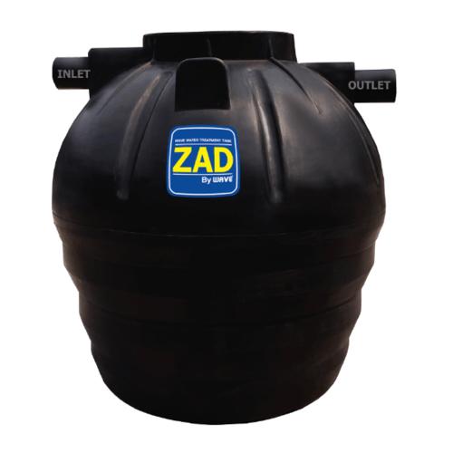 WAVE ถังบำบัดชนิดรวมไร้อากาศ 1600 ลิตร ZAD-1600
