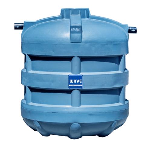 WAVE ถังบำบัดน้ำเสีย รุ่น WFF-6000 ลิตร สีเทา
