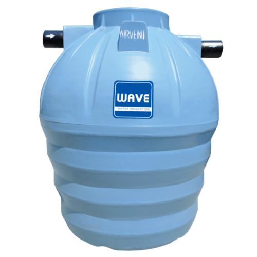 WAVE ถังดักไขมัน WGT-600   สีเทา