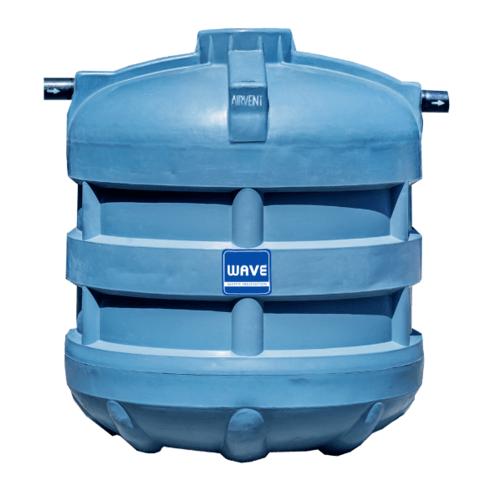 WAVE ถังบำบัดน้ำเสียชนิดกรองไร้อากาศ รุ่น WF-5000 ลิตร