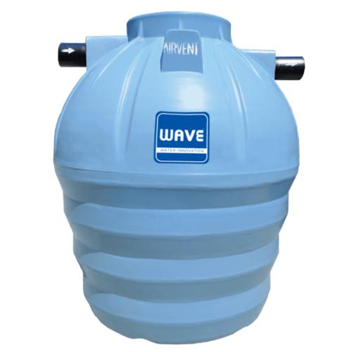 WAVE ถังบำบัดน้ำเสียชนิดเกรอะ  WS-3000 ลิตร