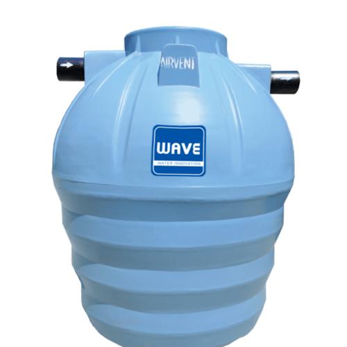 WAVE ถังบำบัดน้ำเสียชนิดกรองไร้อากาศ WF-1600 ลิตร