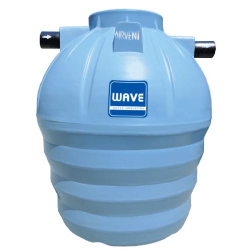 WAVE ถังบำบัดน้ำเสียชนิดเติมกรอง  WF-1600 ลิตร