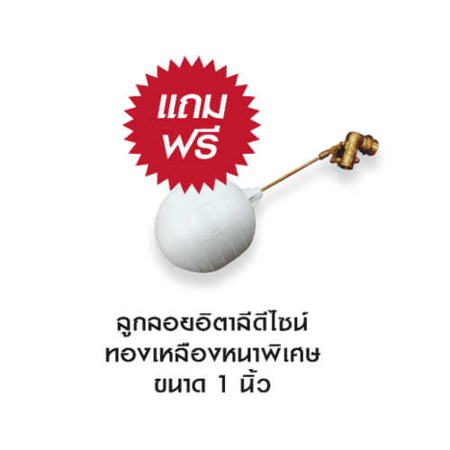 WAVE ถังเก็บน้ำบนดิน 1000 ลิตร CHANG SG (ช้างเอสจีลายแกรนิต)** แถมฟรีลูกลอย 041910011112**