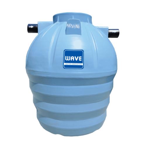 WAVE ถังบำบัดน้ำเสียชนิดเติมเกรอะ รุ่น WS-800 ลิตร