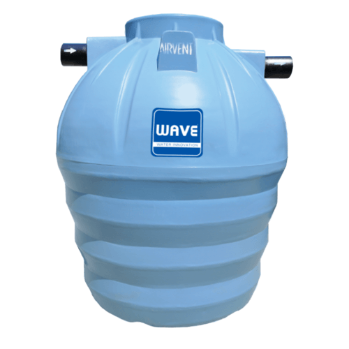 WAVE ถังบำบัดน้ำเสียชนิดเติมอากาศ  WFF-3000 ลิตร
