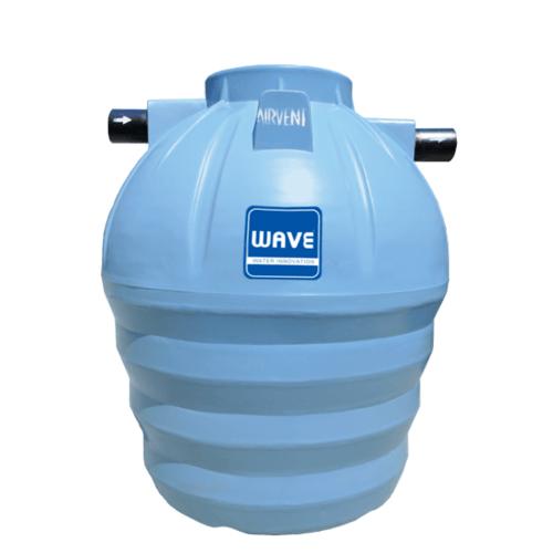 WAVE ถังบำบัดแยกประเภทชนิดเติมอากาศ ขนาดบรรจุ 1600 ลิตร WFF-1600