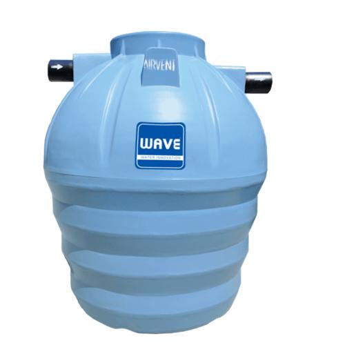 WAVE ถังบำบัดแยกประเภทชนิดเติมอากาศ ขนาด 2000 ลิตร WFF-2000