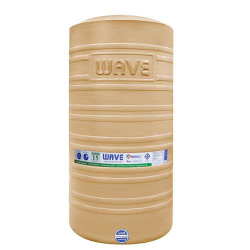 WAVE ถังเก็บน้ำบนดิน 2500 ลิตร PORCE สีครีม