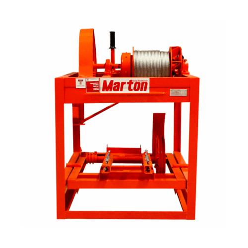 MARTON ลิฟท์ยกถังปูน (ไม่รวมมอเตอร์) รุ่นใหญ่ สีส้ม