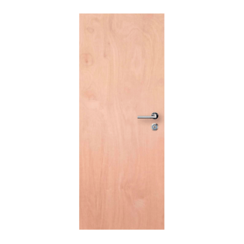 metro ประตูไม้อัดยาง-ไส้ไม้ภายนอก ขนาด80x180ซม.